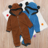 Infant Babies Bear Rompers Outfits