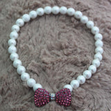 Pet Pearls Necklace