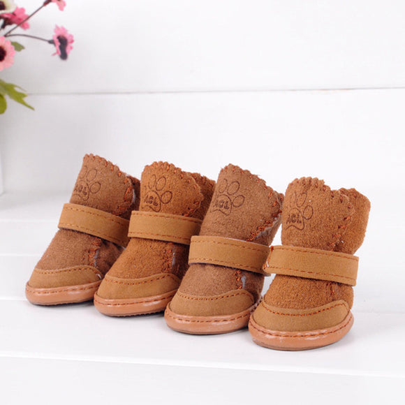 Puppy Cute Warm Cozy Cotton Boots