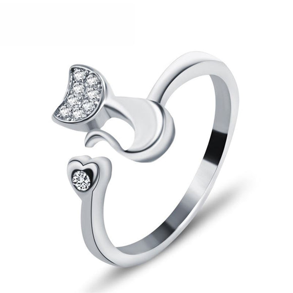 Heart Open Ring