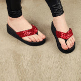 Red Flip Flops Slippers