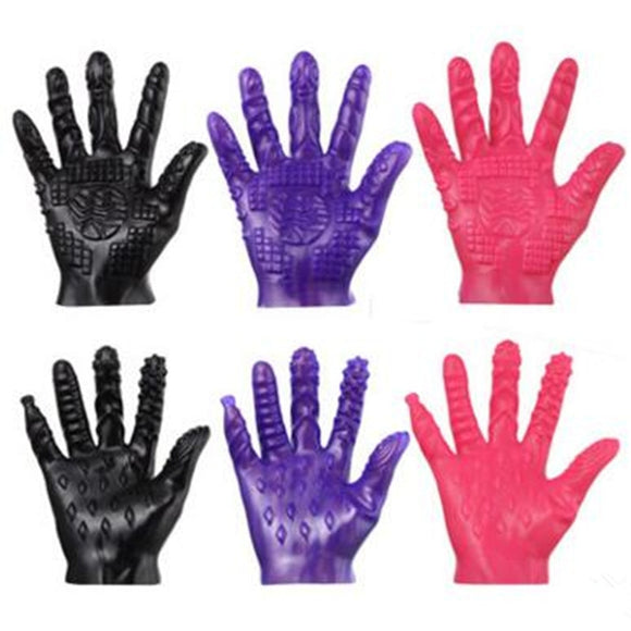 Magic Palm Massage Gloves