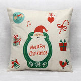 Merry Christmas Pillow Case Cover