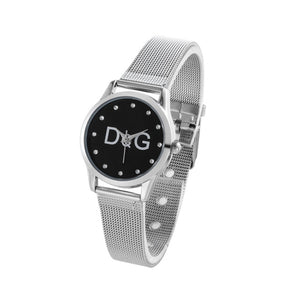 Mesh Stainless Casual Quartz Watch