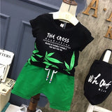 Leaf T-Shirt Shorts