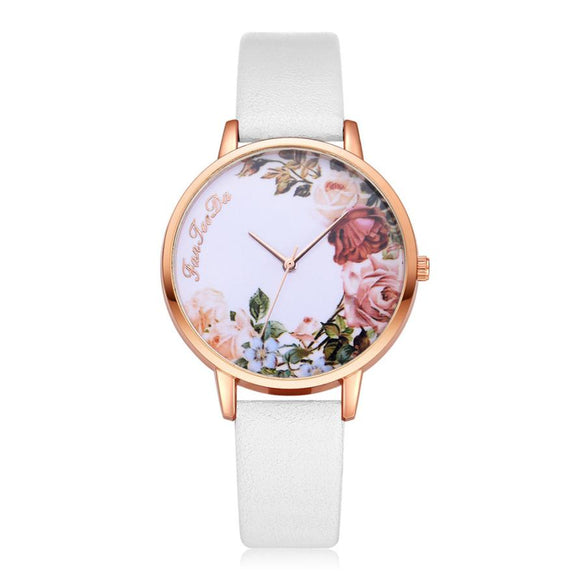 Flower Dial Wrist Watches