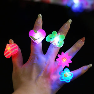 Flashing Light Ring