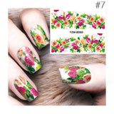 3D Nail Art Water Decals Stickers