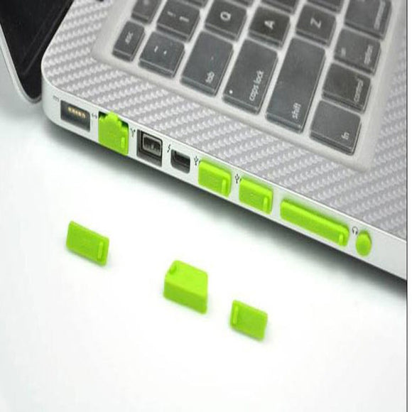 Anti Dust Laptop Plugs Ports Cover