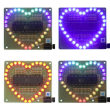 Heart-shaped Flashing Set
