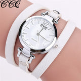 Fashion Leather Bracelet Watch