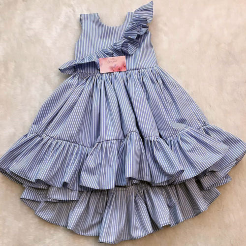 Party Pageant Ruffle Dress