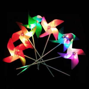 Glowing Windmill Wind Spinner