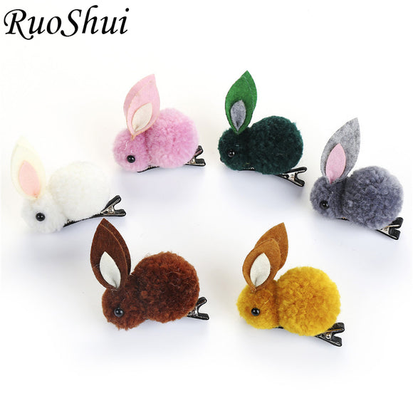 Cute Rabbit Hair Clip