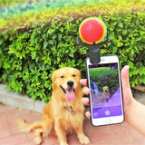 Dog Selfie Attachment Ball