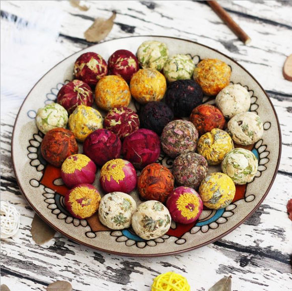 Organic Mix Blooming Tea Balls