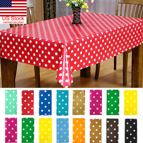 Rectangle Dots Tablecloth