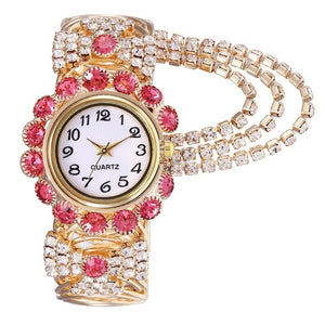 Luxury Rhinestone Bracelet Watch