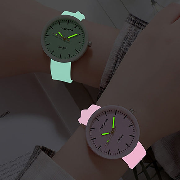 Luminous Silicone Watch