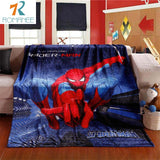 Spiderman Blanket