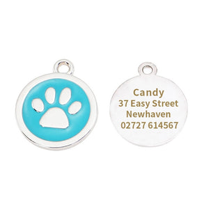 Personalized Dog Engraved Tags