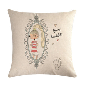 Decorative Pillow Case