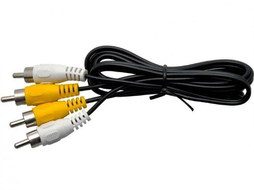 1 Metre RCA Phono Cable with Video and Audio