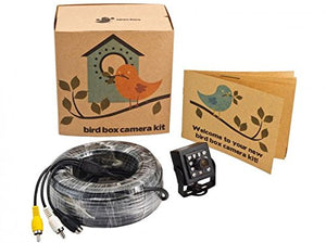 Wired Bird Box Camera with Sony Chip & 20m Cable
