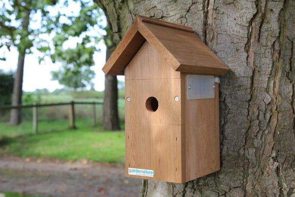 Pitched Roof Bird Box (Camera Ready)