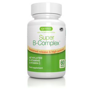 Super B-Complex, Methylated Vitamin B Complex tablets with Folate