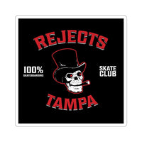 Tampa Rejects Kiss-Cut Stickers