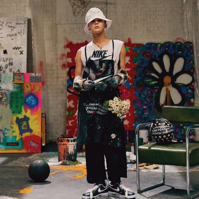G-DRAGON'S COMEBACK WITH NIKE AND CONVERSE