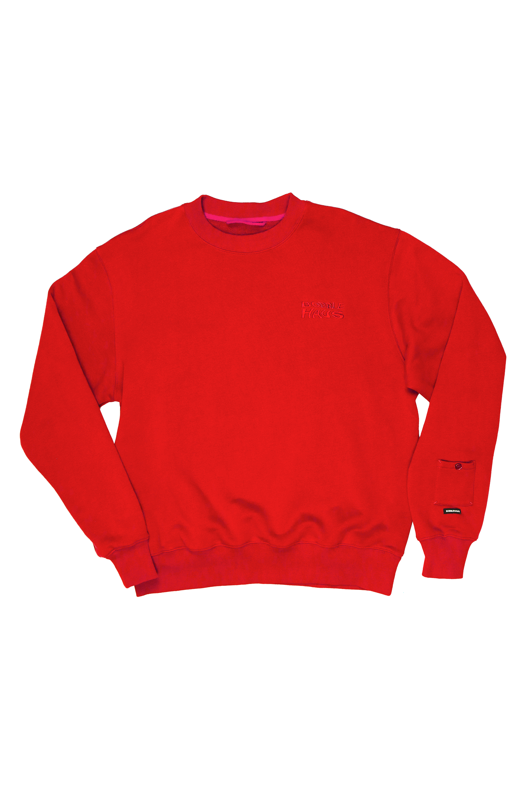 BH Recycled Cotton Utility Oversized Crewneck - Bobblehaus