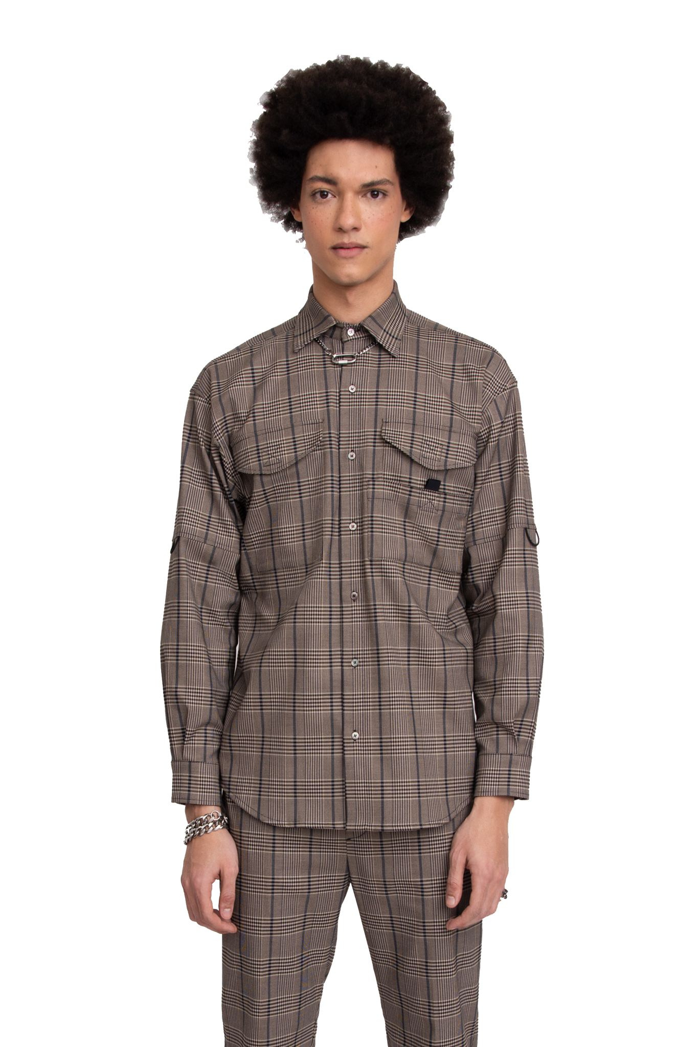 BH Utility LS Button-Up Shirt - Bobblehaus
