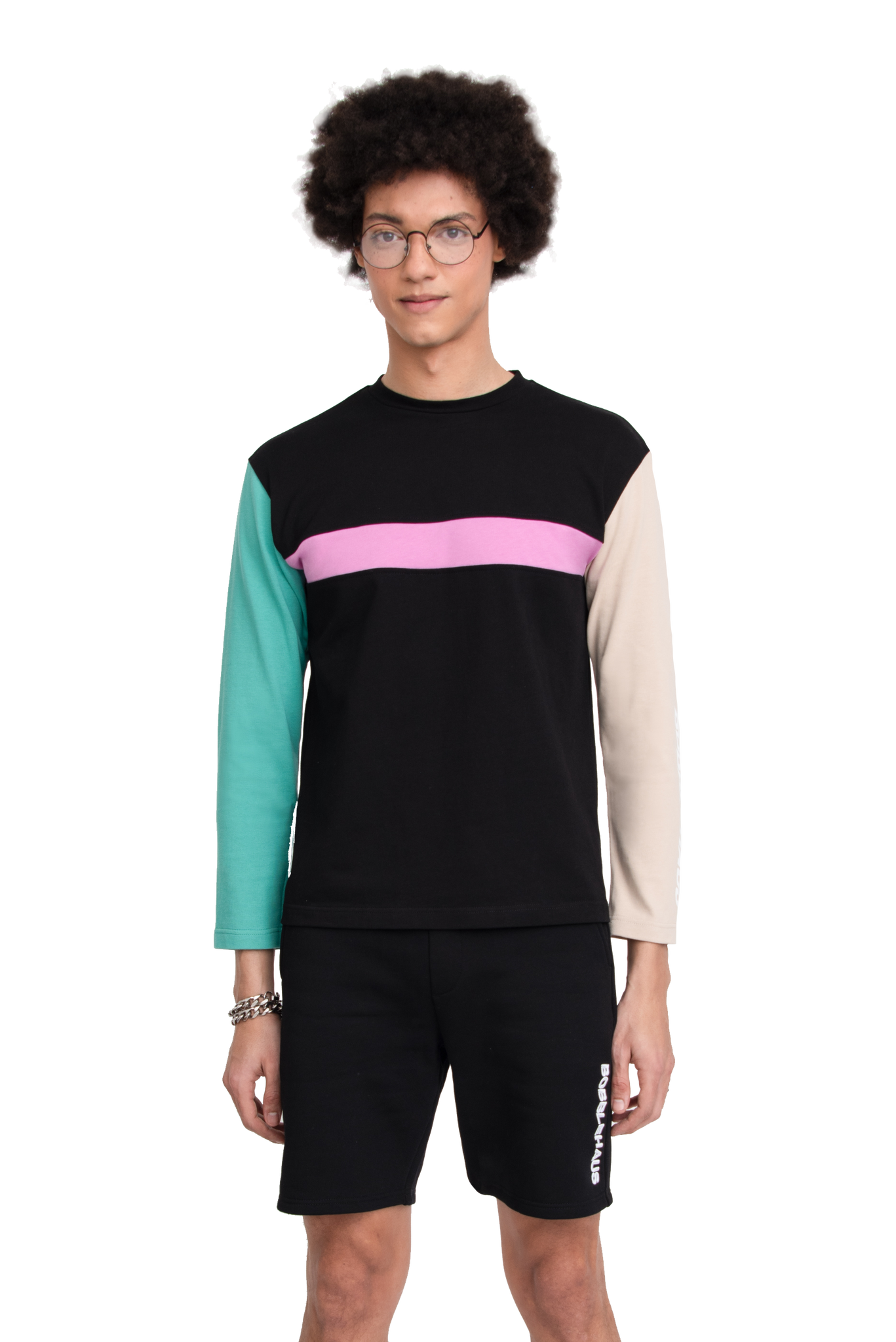 BH Colorblock LS T-shirt - Bobblehaus