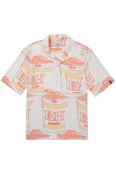 BH Signature Ramen Print SS Button-Up - Bobblehaus