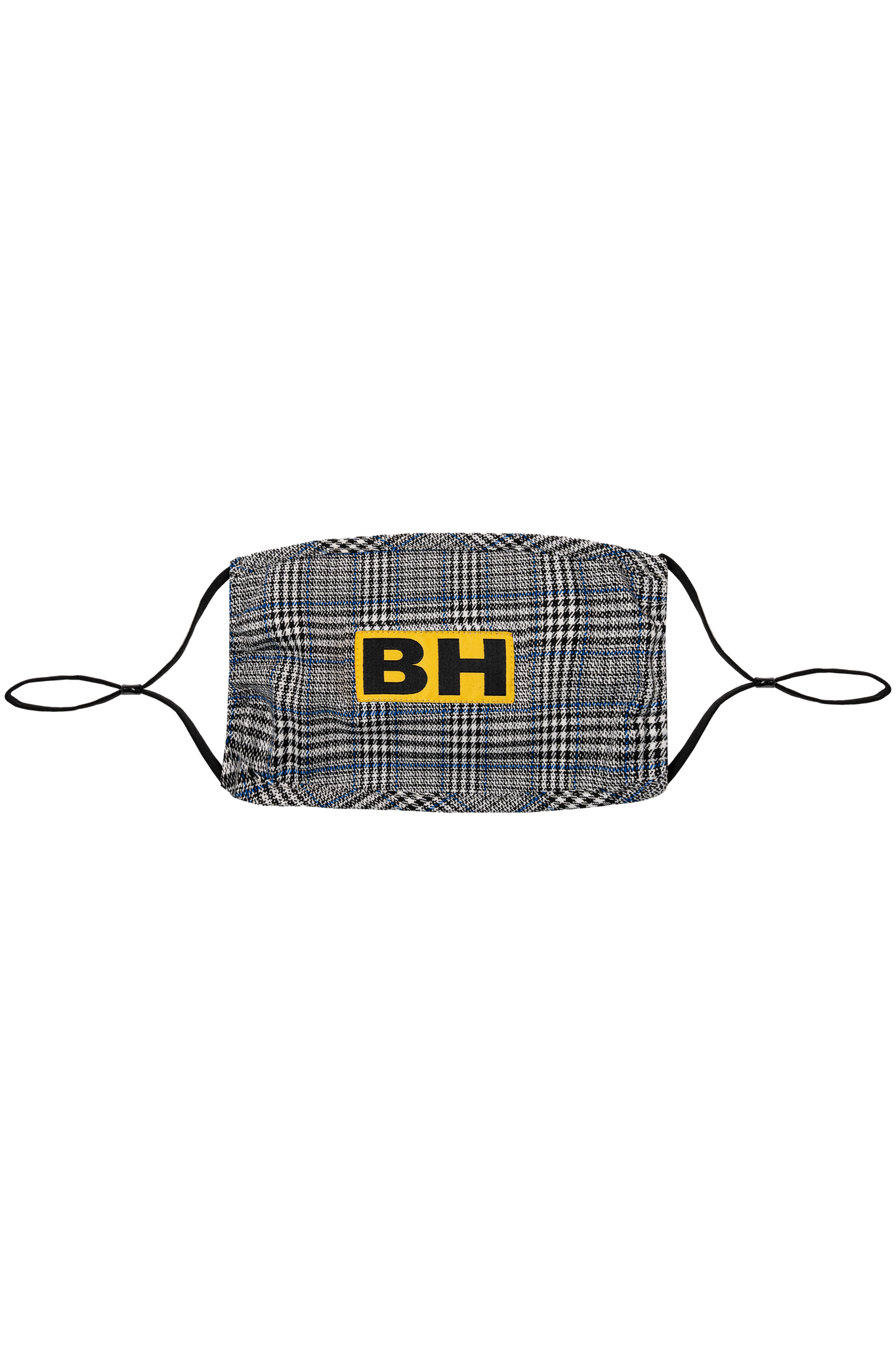 BH Adjustable Plaid Face Mask - Bobblehaus