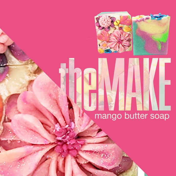 theMake | Watch the Making of Primavera Mango Butter Soap