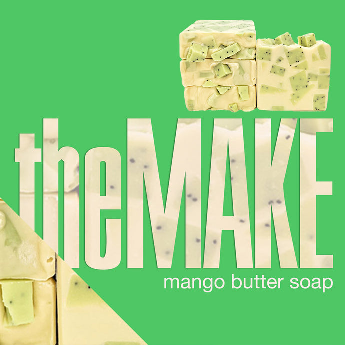theMake | Watch the Making of Lima Mango Butter Soap