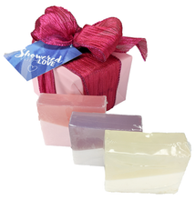 Load image into Gallery viewer, Coconut Milk Soap  3-Piece Gift Set