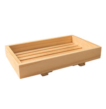 Load image into Gallery viewer, Natural Wooden Soap Dish - lujo bar