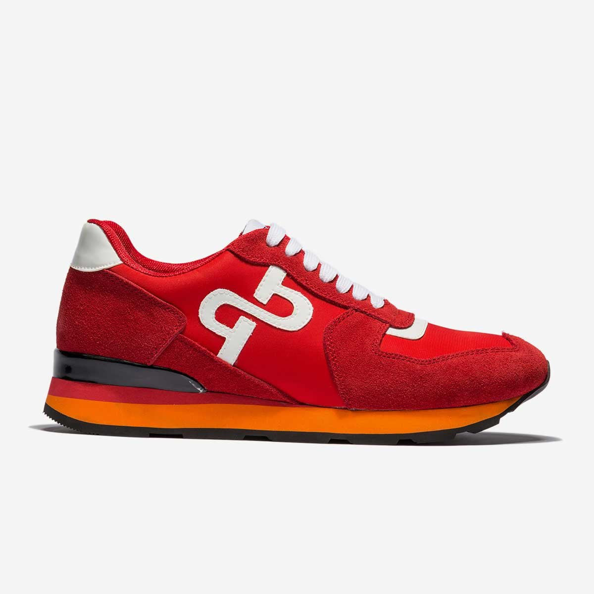 LACE-UP SUEDE SNEAKERS RED - Top Sneakers - OPP Official Store (OPP France  ... bb17120f8