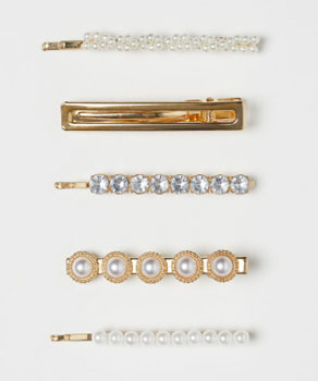 5 Pack Hair Clips from HM