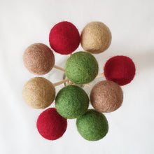 Load image into Gallery viewer, Holly Pom Pom Flowers, Felt Ball Bouquet Room Decor
