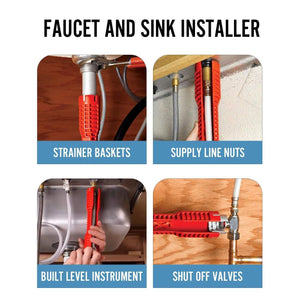 Faucet and Sink Installing Tool