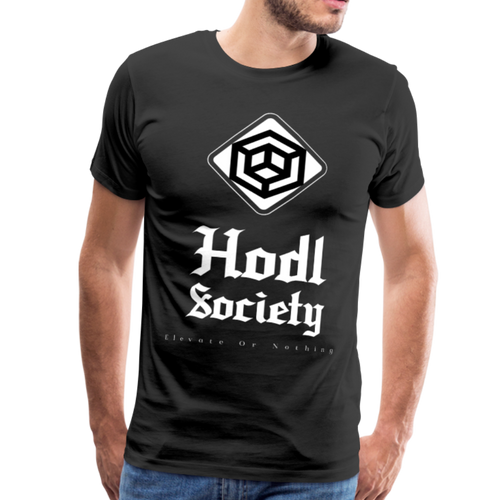 Hodl Society Elevate Or Nothing with glow sleeve - Couchboss