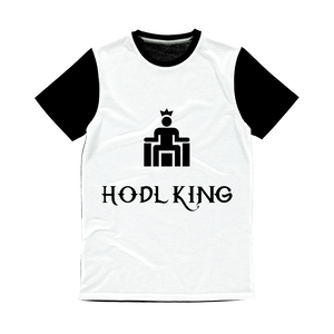 Hodl King Panel T-Shirt - Couchboss