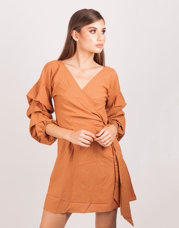 Almond Rich Mini Dress | MyCAVI