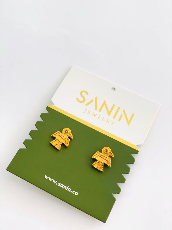 Gold Loyalty Earrings