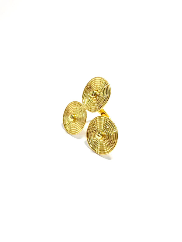 Saint-Pierre de Beauvais Ring- CAVI online boutique - handmade gold jewelry